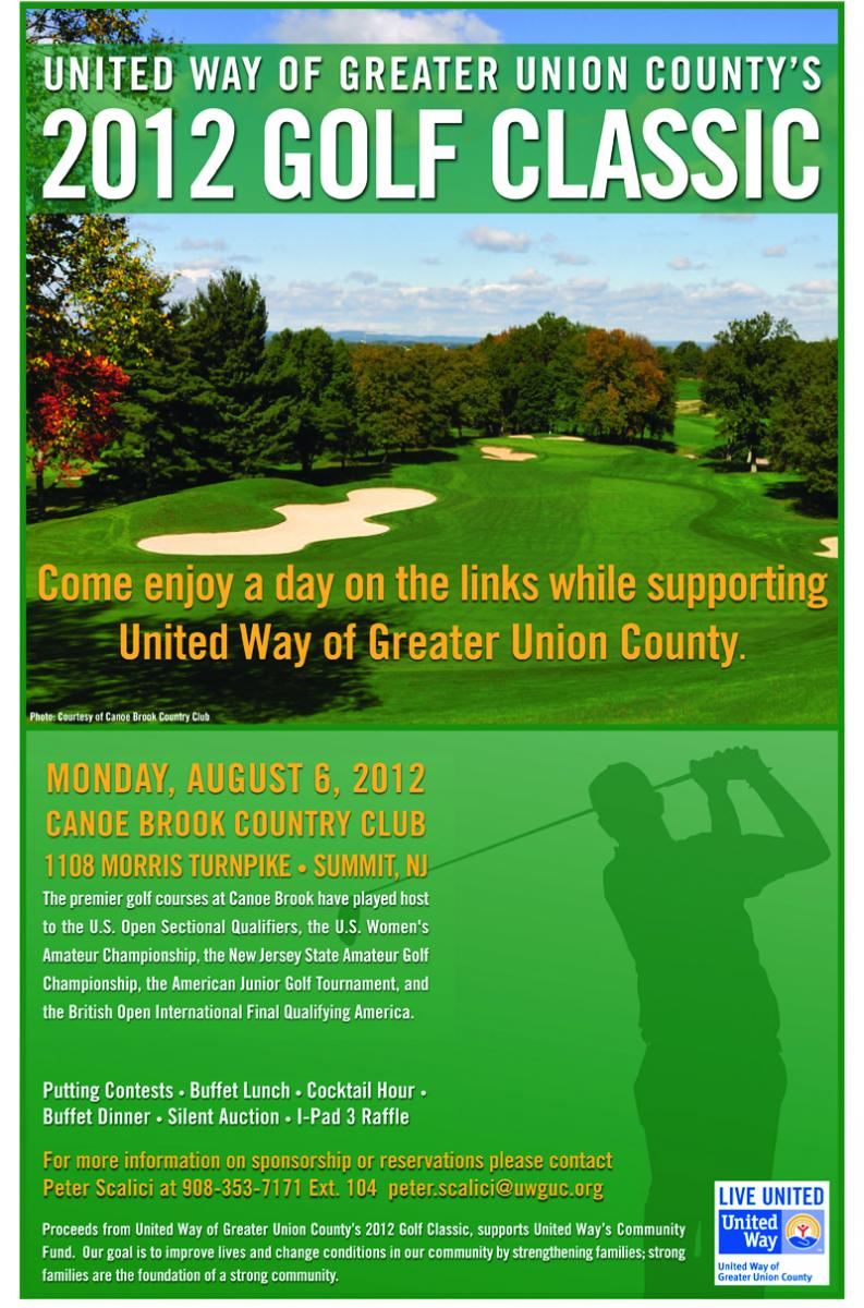 united way of greater union county hosts annual golf