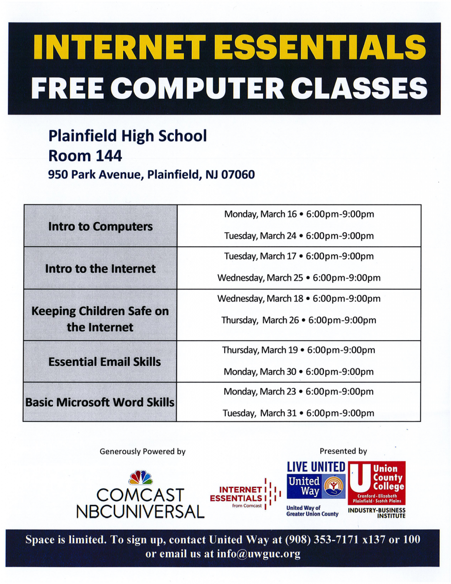 Free Computer Classes - Internet Essentials | United Way of Greater